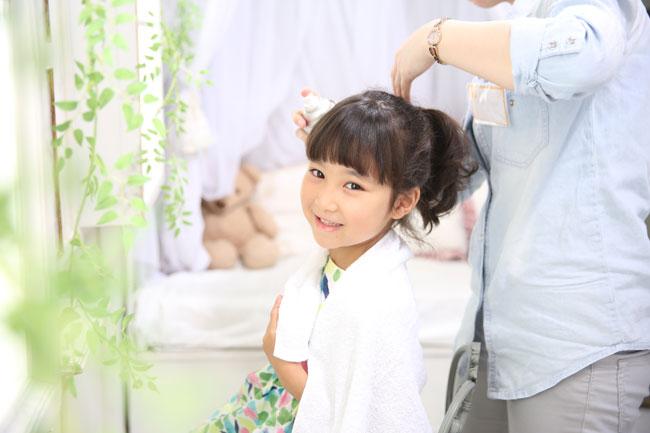 小田急百貨店ランドセルカタログ撮影