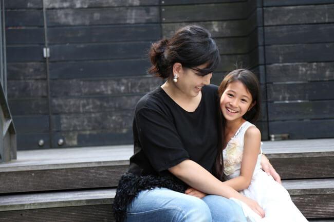 ママズボイス:ミアンちゃん&ママ